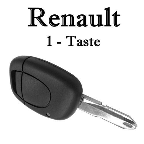 1x Ersatz Autoschlüssel Gehäuse für Renault 1 Taste Fernbedienung Rohling KS02NL