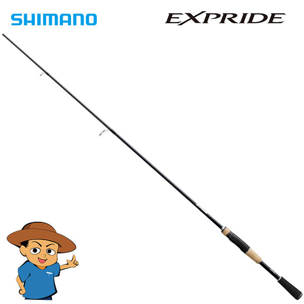 Shimano EXPRIDE 266L Light 6'6  bass fishing spinning rod pole