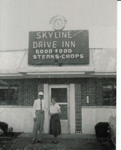 Details About Skyline Drive Inn Restaurant Florence Ky Kentucky 1954 Photo Card