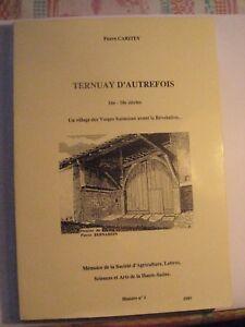 Pierre-Caritey-Ternuay-d-039-autrefois-1989-un-village-des-Vosges-saonoises-tome-1