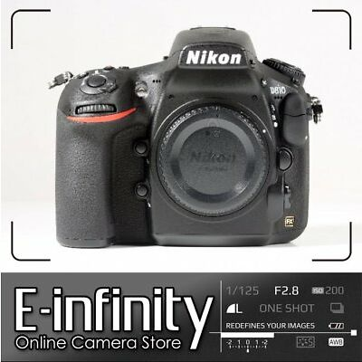 NUEVO Nikon D810 Digital SLR Camera Body Only