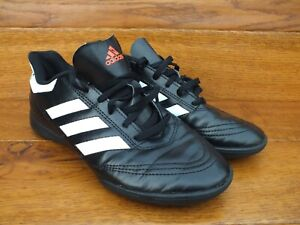 Adidas-Goletto-Noir-Football-Baskets-Taille-UK-5-5-EU-38-5