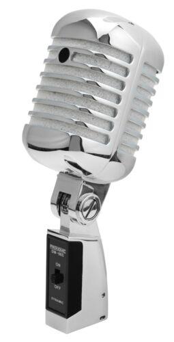 B-WARE Dynamisches DJ PA Vintage Gesangs Mikrofon Retro Mikro Rockabilly Mic SL