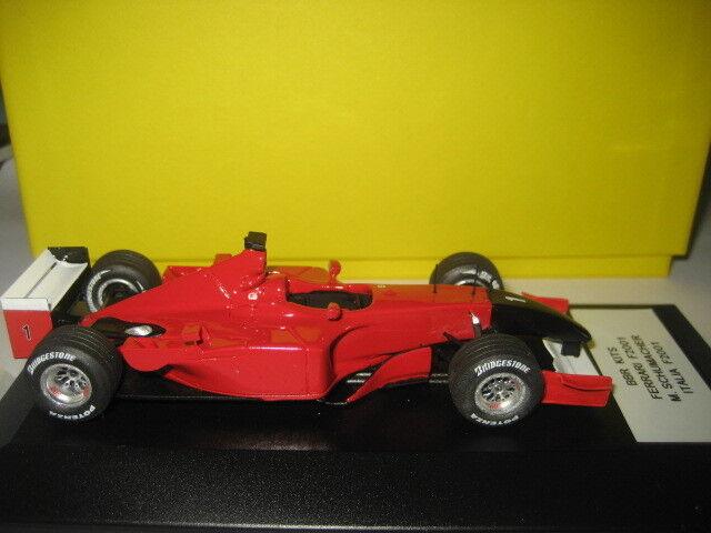 BBR MODEL BUILT F1  FERRARI  F2001 F2001 F2001  SCHUMACHER  ITALIA   GP  2001    43 272c03