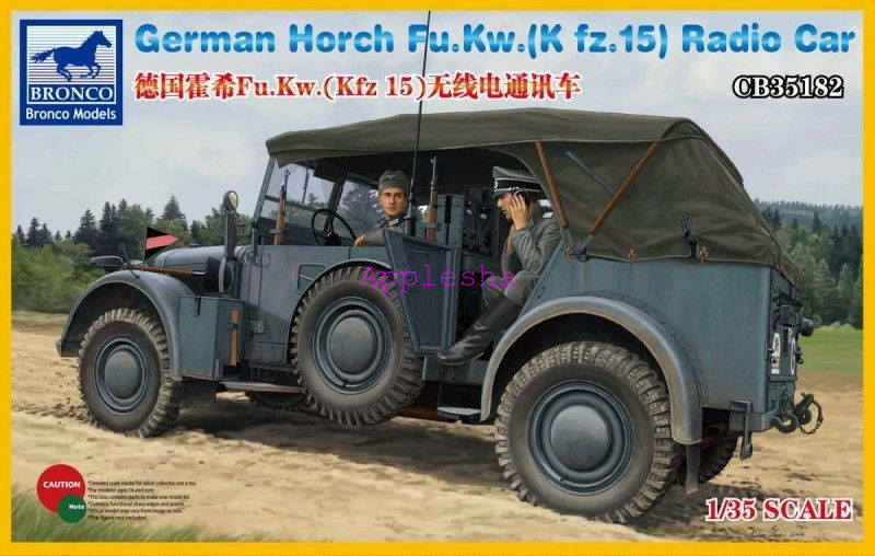 Bronco 1 35 35182 German Horch Fu.Kw.(Kfz.15)Radio Car