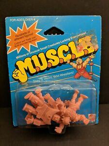 Vintage-M-U-S-C-L-E-4-Pack-Mattel-1985-Wrestling-Figures-SEALED