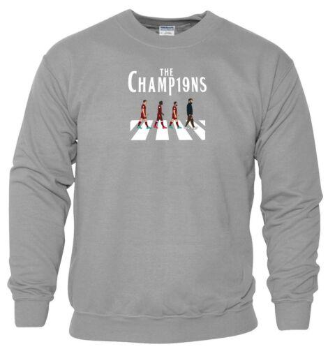 The Champions Sweatshirt Liverpool Football LFC BPL Birthday Gift Men Jumper Top