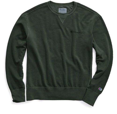 Champion Mens Sweater Vintage Dye Fleece Crew Medium £41.95RRP!! Forest Grove