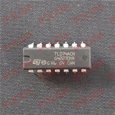 10PCS IC MOTOROLA DIP-14 TL074ACN TL074ACNE4 TL074A