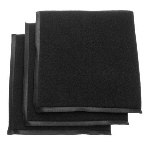 3x Foam filter for Parkside PNTS 1500 B2 IAN 87778,PNTS 1500 B3 IAN 97734