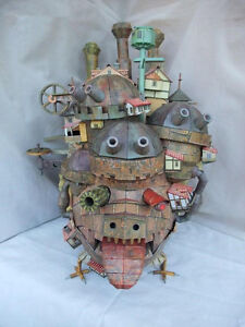 Hayao miyazaki howl s moving castle land version diy handcraft paper model kit ebay - Land keuken model ...