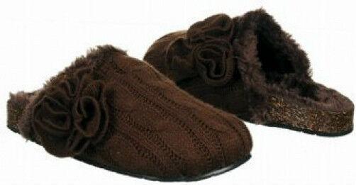Madden Girl Biilee sweater clog slip-on brown 7 Med NEW