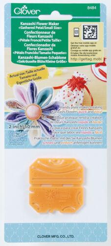 Clover Kanzashi Flower makers arts artisanat coudre différentes tailles tous gratuit uk post