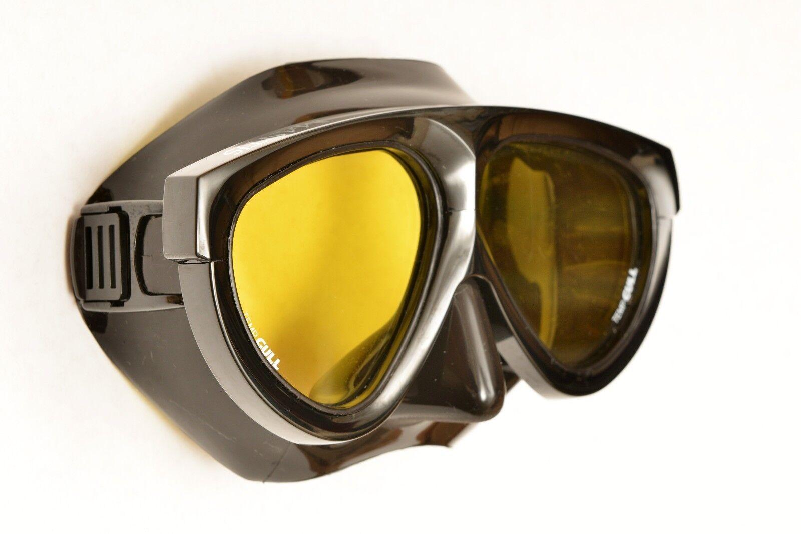 AQA GULL MANTIS Amber Scuba Dive Mask