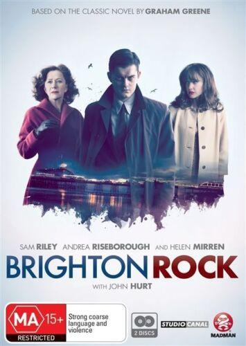 1 of 1 - Brighton Rock (DVD, 2011, 2-Disc Set) Brand New & Sealed Region 4 DVD - Free Pos