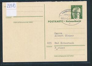 100% Vrai 29983) überlandpost Hambourg-lübeck 0240-04/01 A, Ga 1972-afficher Le Titre D'origine RéTréCissable