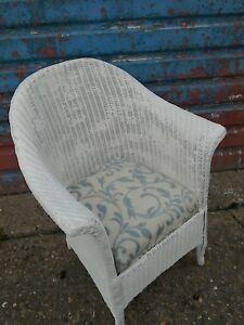 Vintage Wicker Chair Ebay