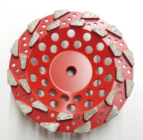 "PREMIUM QUALITY 2PK 7/"" #30//40 Grit Pro Diamond Grinding Cup Wheel"