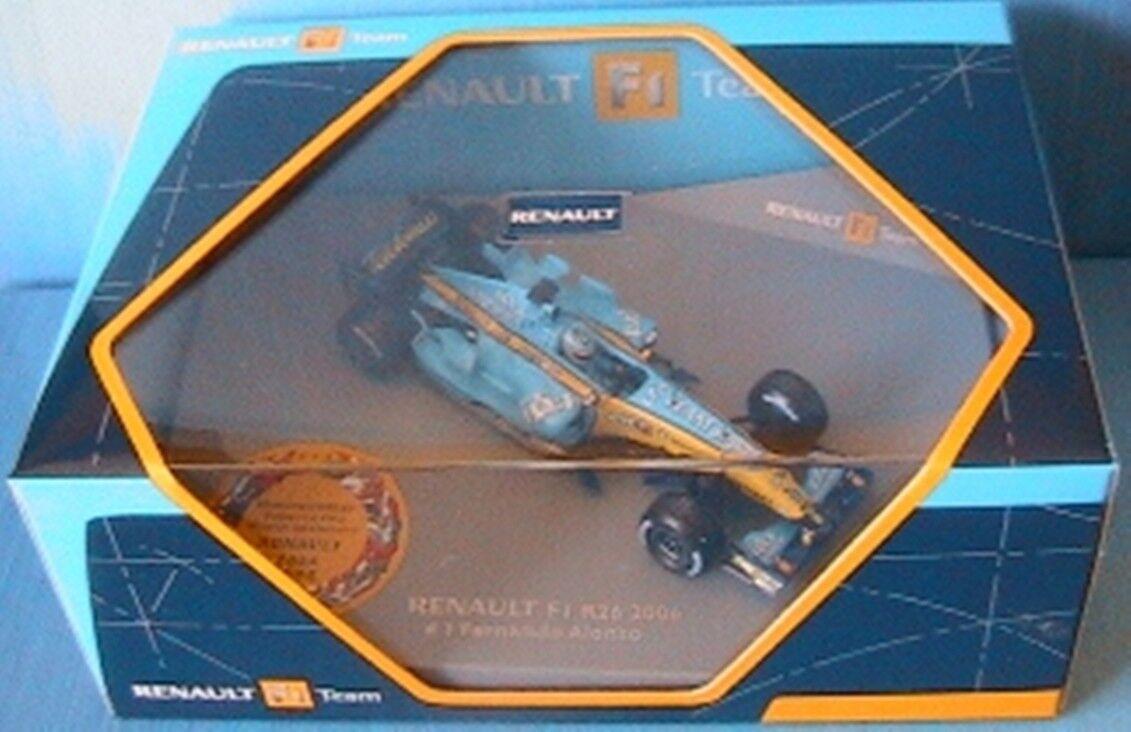 RENAULT F1 TEAM R26  1 ALONSO WORLD CHAMPION 2006 1 43 NOREV 7711421593 SHOWCAR