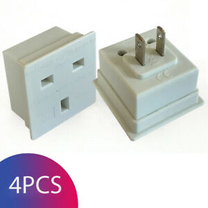 UK-to-US-USA-American-Canada-Travel-Adapter-Plug-Converter-Adaptor-Pack-of-4