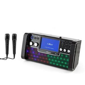 B-WARE-KARAOKE-ANLAGE-MASCHINE-CD-USB-MP3-PLAYER-SPIELER-BLUETOOTH-STEREO