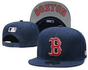NEW-ERA-9FIFTY-SNAPBACK-ADULT-MLB-Boston-Red-Sox-HAT-CAP-NAVY