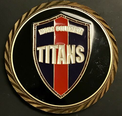 234th Birthday Ball USMC MGRS Columbia Titans Marines Challenge Coin