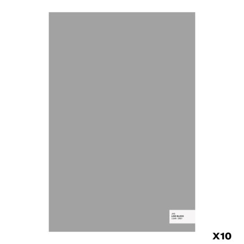 3.2mm JAS 400x600mm Lino Block 10 Pack Grey