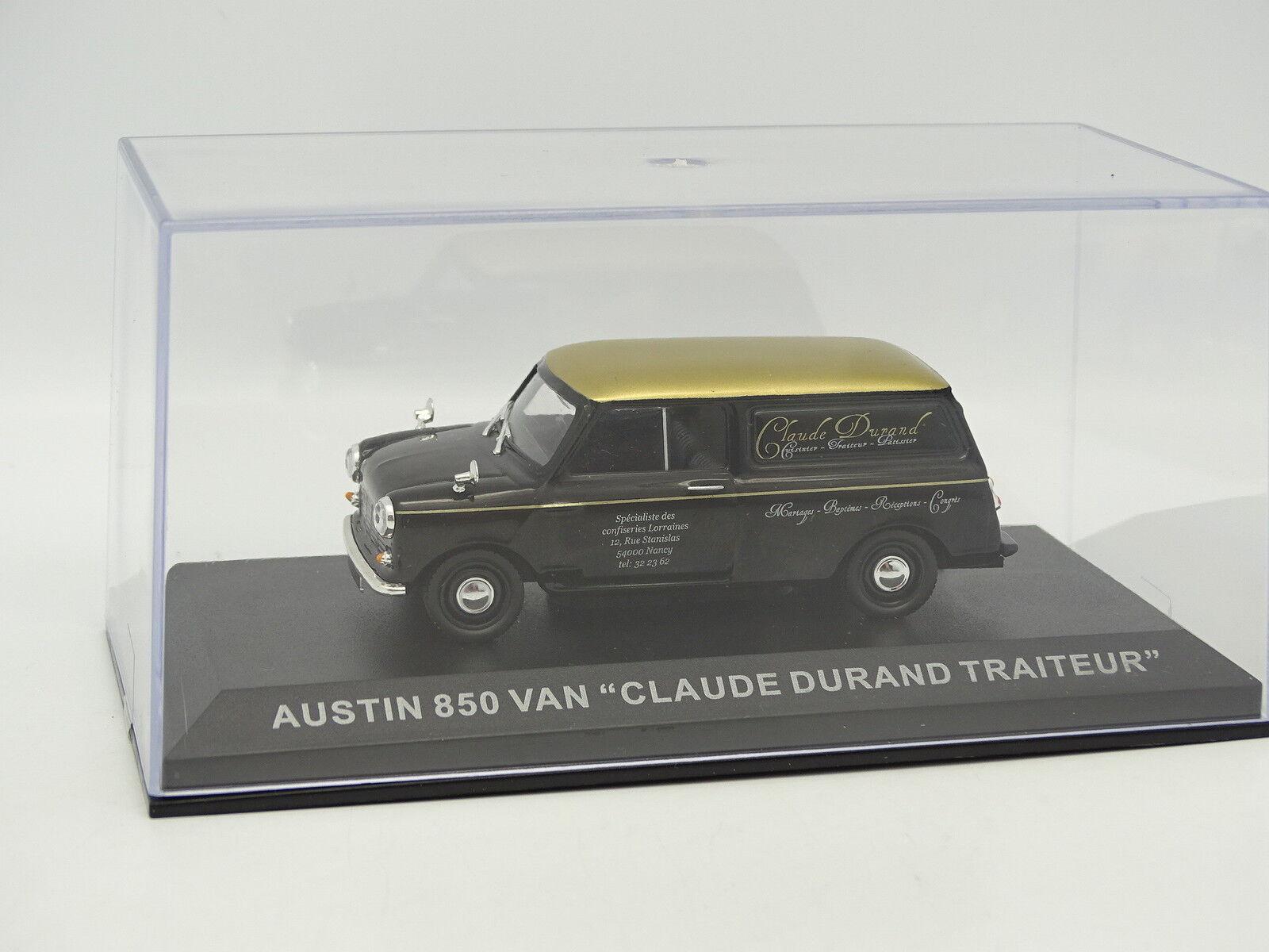 Ixo Press 1 43 - Austin Mini 850 Van Claude Durand Catering