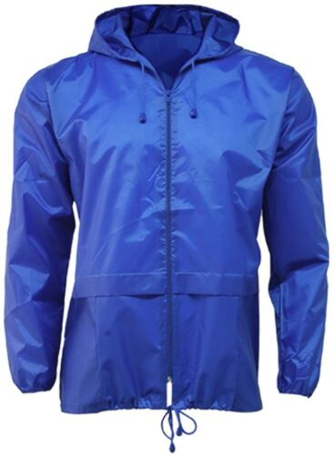 New Lightweight Unisex Kagoul Rain Coat Jacket Mac Kagool Cagoule S-XXXL