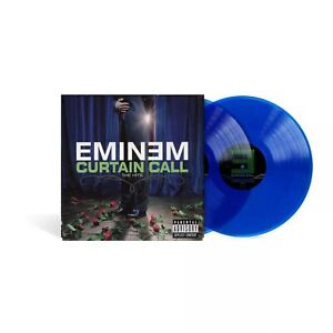 Eminem-Curtain-Call-BLUE-2-X-Color-Vinyl-SEALED-SHIPS-NOW