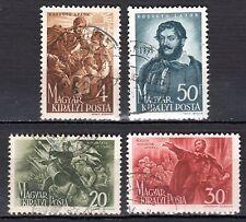 Hungary - 1944 Lajos Kossuth - Mi. 745-48 VFU