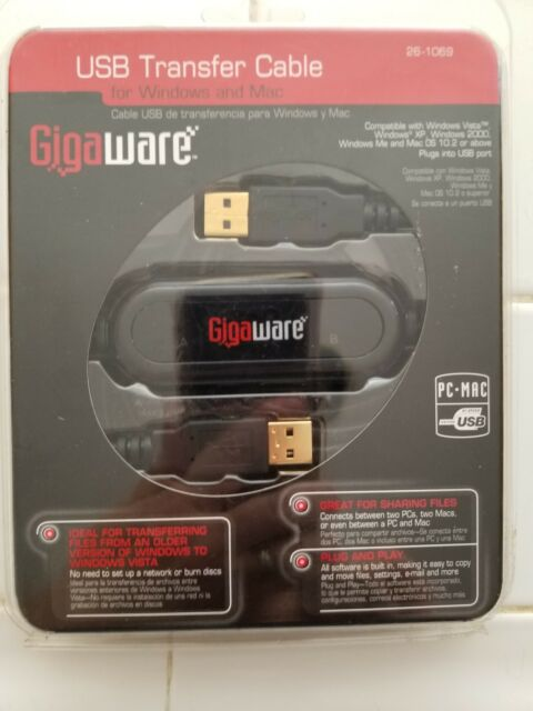 DRIVERS GIGAWARE USB TRANSFER CABLE