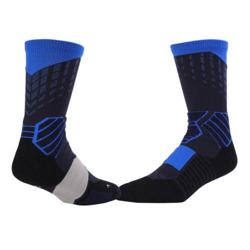 1 Pair Anti Slip Basketball Breathable Socks Men Women Middle  Fitness Socks