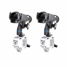 2x Boat Fishing Rod Pole Rack Stand Bracket Holde w/ Large Open Adjustable Clamp