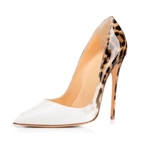 Chaussures Femmes Cm Sexy Printemps 12 Slip On Casual Hauts Talons Nouveau Pointu Pumps PqPpxwXf
