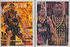 NBA FLEER 1995-1996 SERIES 2 - Robert Horry, Rockets # 292 - Mint