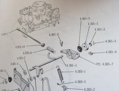 NOS V8 carb shaft felt washer 1966-1968 AMC American AMX Rebel Javelin Marlin