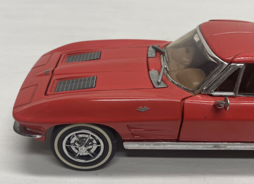 Red Details about  /1989 Franklin Mint 1963 Chevrolet Corvette