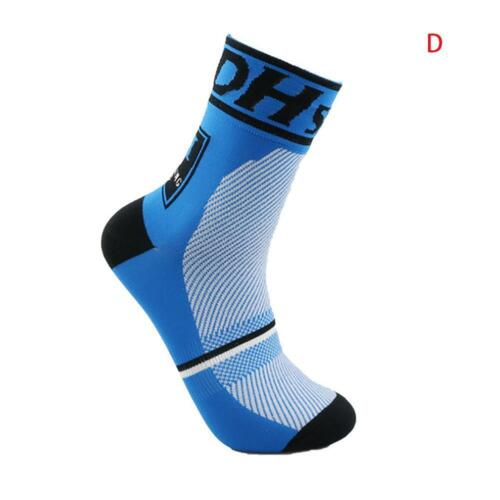Cycling Riding Socks Breathable Men Women Sports Running Basketball Socks S//L