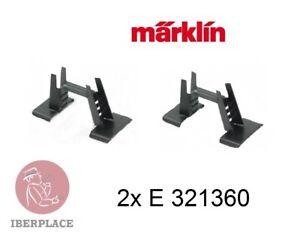 Marklin-E-321360-2x-H0-escala-1-87-AC-recambio-vagon-grua-4912-4611-4671-46715