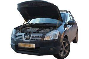 Ajuste-Nissan-Qashqai-J10-2006-2013-Capo-Puntal-Amortiguador-Muelle-De-Gas-Kit-x2-soporta