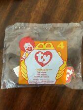 "1996 McDonald/'s TY Chocolate Moose #4 Teenie Beanie Babies 6/"" Long"