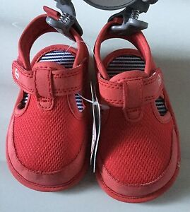 Mothercare Baby Boy Red Pram Sandals