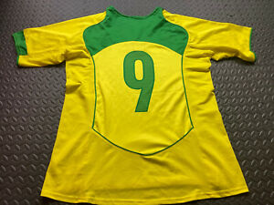 Brazil Shirt #9 Nike Made In Brazil 2004/2006