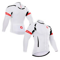 Fashion Men's Long Sleeve Tshirt Bike Riding Top Cycling Jersey Jacket Soft Wear