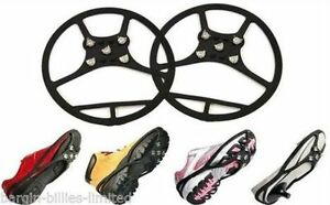 MAGIC-SPIKER-ICE-SHOE-SPIKES-SNOW-CLEATS-GRIPPERS-CRAMPONS-SPIKES-GRIPS-L