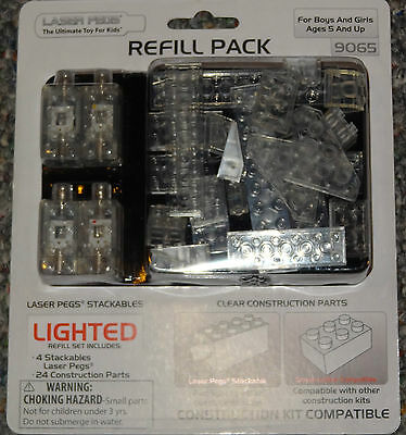 Laser Pegs Refill Pack Compatable with any brick Construction Building Toy New