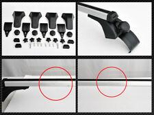 "Silver 50/"" Adjustable Window Frame Roof Rack Rail Cross Bars Luggage Carrier S12"