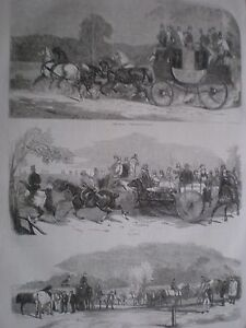 Carreras-de-caballos-Epsom-carreras-de-1857-Impresiones